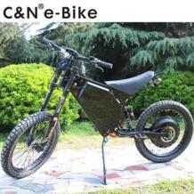2018 мощный электрический мотоцикл 72 В 8000 Вт эндуро Ebike Электрический горный велосипед Лидер продаж No name 32812609636