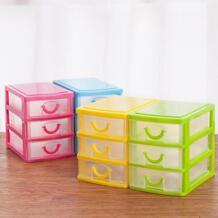 2018 практичный ящик Рабочий стол для хранения конфет прозрачная пластиковая емкость для хранения Коробка органайзер-держатель ювелирных изделий шкафы No name 32861563097