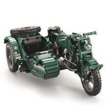 Детский мотоцикл RC C51021 629 шт. строительные блоки мировая война 2 Militar RC игрушки для детей подарок для детей JJRC 32879449355