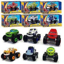 От 2 лет или старше, детская игрушечная машинка и машины монстров, супер трюки, Blaze, дети, грузовик, автомобиль Coll, подарок для ребенка на день рождения, Рождество Emmababy 32838618755