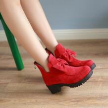 2017 botas mujer/Ботинки, большие размеры 34-42, Модные ботильоны, винтажные брендовые весенние туфли на среднем каблуке, осенняя женская обувь, 2086 BLXQPYT 32690466911