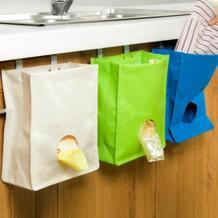Кухня шкаф мусора висит сумка для хранения дома Ванная комната держатель Организатор ISHOWTIENDA 32916515166