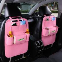 Новый универсальный 1 шт. авто сиденье Черная защитная крышка салона автомобиля Дети Kick коврик сумка для хранения аксессуары Тюнинг автомобилей youe shone 32870407810