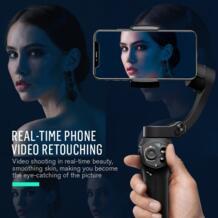 Snoppa Atom 3-осевой портативный монопод с шарнирным замком stabibilier для iphone 7 X смартфон Gopro Hero xiaomi vs zhiyun Smooth 4 Osmo mobile 2 No name 32762505647