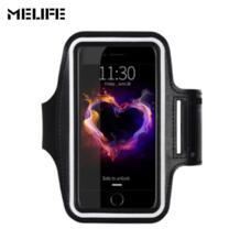 спортивные Бег талии сумка Велоспорт бег Интимные аксессуары ARM Сумки для iPhone 7 6 6S плюс 5 SE для Samsung s3 4 5 S7 Примечание 3 4 MELIFE 32827146179