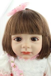 Новинка 2015 года дизайн 24 дюймов Reborn для малышей коренастая кукла натуральные волосы Fridolin реалистичные милая девочка Настоящее нежное прикосновение NPKCOLLECTION 32370200281
