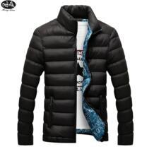 2019 Новый Зимний горный мужской пиджак Повседневный хлопок мужской тонкий стенд воротник хлопок взрыв модели пуховик теплый M-4XL дополнительно HongMiao 32839005812