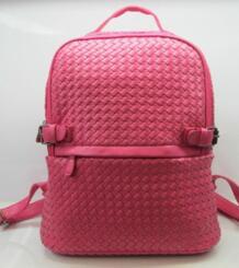 Бесплатная Доставка мужские и женские модные рюкзак Премиум PU тканые сумка рюкзак стороны плетение сумки No name 1718724710