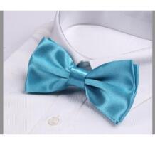 Бирюзовый галстук-бабочка гравате галстуки для мужчин corbatas бабочка Hooyi 32394846475