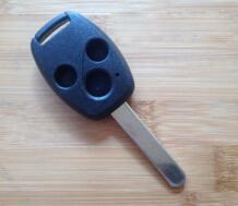 Правил США! 3 кнопки дистанционного ключа Shell для Honda Accord Fit с режиссерский блейд Прокат брелока дело 10 шт./лот No name 32434615067