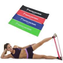 4 шт./компл. Crossfit Эспандеры Пилатес спортивный резиновый ремешок для тренировки латексные резиновые петли для тренажерного зала фитнес-оборудование GYMFORWARD 32811637717