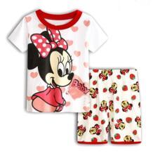 Низкая цена, Прямая поставка, летняя одежда для сна для малышей, костюмы с героями мультфильмов, пижамы для мальчиков, детские пижамы, пижамы с короткими рукавами с героями мультфильмов для девочек PUCKISH BABY 32855838615