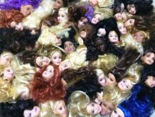 10 шт/партия O для U внешней торговли оригинальные головы для кукол DIY для Барби девушка подарок на день рождения женская голова куклы в наличии оптовая продажа игрушки o for u 32291369283