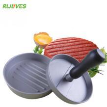 RLJLIVES 1 компл.. круглый форма гамбургер пресс алюминиевый сплав 11 см гамбургер мясо говядины Гриль Burger пресс Пэтти чайник Плесень No name 32840026302