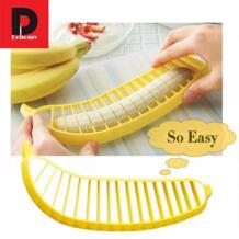 Dehomy ручные Слайсеры Пластик Банан Slicer Cutter фрукты овощи инструменты салат чайник измельчитель Sausage Крупы Пособия по кулинарии инструменты No name 32856229432