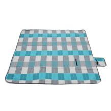 200*200 см один бархат туристический коврик для пикник на открытом воздухе пляж ползать складной Влагоустойчивый матрац SGODDE 32817235340