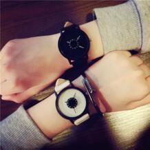 Часы для влюбленных для мужчин для женщин s искусственная кожа ремешок Кварцевые часы для мужчин спортивные часы для женщин платье... susenstone 32681844711