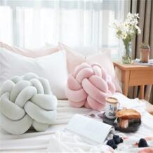 28 см Nordic узел мяч подушки ребенок диванную подушку детские мягкие игрушки для детей и взрослых Спальня украшения Дети детская мягкая игрушка No name 32862354922
