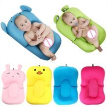 Новорожденный коврик для ванной с плавающей подложкой детский коврик для ванной Коврик для ванны и стул и полка стульчак для ванной Младенческая Поддержка Подушка коврик для ванной коврик малыш Блум beideli 32876010636