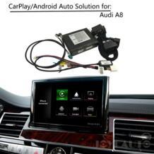 CarPlay Интерфейс адаптер послепродажного обслуживания OEM Apple Carplay Android Авто IOS обмена потоковыми мультимедийными данными (Airplay) модифицированное обновление A8 MMI для Audi AUX активированного угля ZHOYITO 32885362196