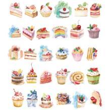 30 шт./лот торт ко дню рождения дизайн открытки поздравительные Рождественская открытка поздравительная открытка творческие подарочные карты H021 sankilochan 32794762869