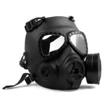 Пейнтбол Маска Тактический игра Airsoft Полный уход за кожей лица Защитная маска для лица, Маска Гвардии череп Пейнтбол Очки Шестерни черный M04 TOMOUNT 32802496154