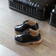 весна и осень ретро ПВХ сухожилия в конце непромокаемые черные туфли принцессы для девочек детская кожаная обувь AFDSWG 32850442155