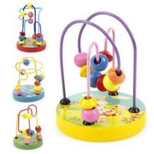 Shaunyging #4009 Развивающие детские дети деревянный вокруг бусины игрушкой для малышей разведки игрушки No name 32878592623