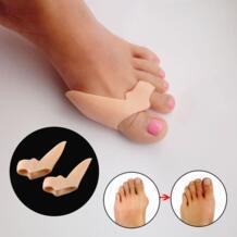 Коррекция выступающей косточки Силиконовые серьги гель разделитель пальцев при Наросте Регулировка ухода за ногами LULAA 32900303173