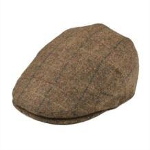 100% Wool Flat Кепки Для мужчин Для женщин твид Гэтсби шляпа Гольф Дерби газетчик Кепки s коричневый с черным 002 BOTVELA 32884807935