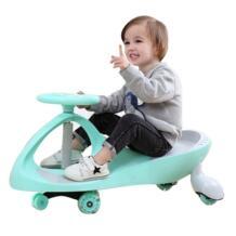 Дети три балансировка автомобильных колес скутер без ножных педалей детский поворотный автомобиль портативный ребенок Ходунки Трехколесный велосипед езда игрушки машинка с рулем No name 32849750815