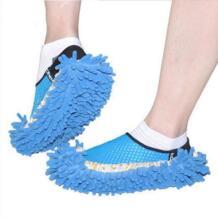1 пара шенилль ленивый шлёпанцы для женщин моющийся дом очиститель ленивый пол Уборка Пыли ног бахилы Цвет случайно отправлен Halojaju 32820961992