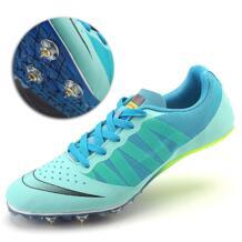 Большой размер 35-45 трек шиповки для Для мужчин атлетика шипованные ботинки кроссовки для бега и занятий спортом унисекс пол carriebang 32946662150