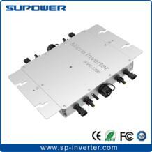 Нового поколения с 433 мГц Беспроводной функции мониторинга солнечные сетки галстук Microinverter WVC1200 для на сетке дома солнечной Системы SUPOELE 32650778378