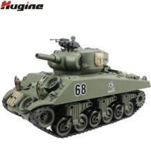 Р/У танки США Шермана M4A3 колесница 15-канальный 1/20 Тактический транспортного средства главный боевой модель военного танка со своим Shoot Airsoft хобби игрушки hugine 32648608191