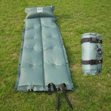 Открытый Автоматическая Надувные высокого отскока губка влагостойкие себя надувать коврик с подушкой подушка коврик для кемпинга No name 32328887157