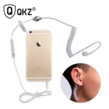 A1 Внутриканальные наушники стерео монофонический 3,5 мм с заушным креплением для iPhone samsung чехол для телефона QKZ 32428542128