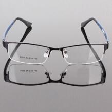 Прочная Мужская металлическая оправа для очков полуобода дизайнерские прозрачные солнцезащитные очки Рамка flowerhorse 32252415497