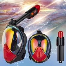 2018 новая складная маска для дайвинга маска для подводного плавания подводная противотуманная GoPro полный уход за кожей лица подводное плавание маска для женщин для мужчин Дети Одежда заплыва трубка DIVE&SAIL 32874954970