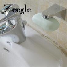 практичный Магнитная мыльница Блюдо раковина ответственность Антибактериальный домашний ванная комната настенное крепление адгезия аксессуары ZEEGLE 32866951941