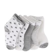Зима-весна, хит продаж, 5 пар, милые носки с рисунками для малышей Мягкая Детская Хлопковая одежда для новорожденных удобные носки до щиколотки для От 0 до 10 лет SIRENXI 32842852155