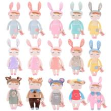 Me-Too ПЛИС игрушки Анжела куклы с коробкой девушка мечтает одежда юбка плюшевый кролик мягкие Подарочные игрушки для детей Me Too 32420912127