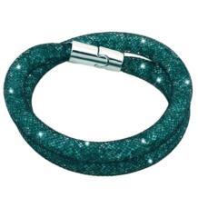 Miasol кристалл браслеты сетка цепь с полностью из мастики Кристалл Магнитный двойной обёрточная бумага магнитный браслет для женщин праздничный свадебный подарок No name 2054240721