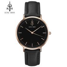 King Хун мужские часы Для женщин Часы дамы 2017 бренд класса люкс известный женский часы кварцевые часы наручные Relogio feminino Montre Femme KING HOON 32792130754