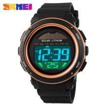 Новый Марка часы солнечной энергии для мужчин электронные спортивные часы Multi функция открытый водостойкий цифровые наручны... SKMEI 32728931292