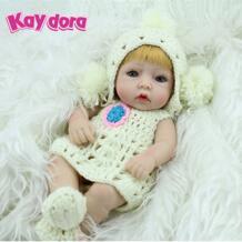 10 '' нормальное куклы Bonecas Bebes возрождается де силикона мягкий полный винил живой куклы моющиеся Bathtime реалистичные игрушки хобби KAYDORA 32346586471