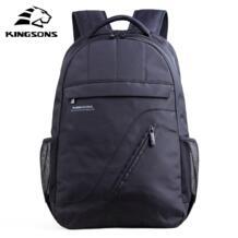 фирменный рюкзак для ноутбука черный мужской рюкзак женская классическая сумка Mochila мальчик рюкзак школьные сумки для подростков kingsons 537166392