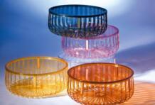 Современный дизайн моды прозрачный низкий столик Кофе Таблица Гостиная Чай Стол красочный приятно хранения небольшой столик No name 32798505559