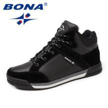 /Новинка; Мужская обувь для скейтбординга в традиционном стиле; Мужская Спортивная обувь на шнуровке; удобные кроссовки для бега на открытом воздухе; Бесплатная доставка BONA 32829016509