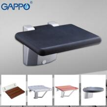 настенные стулья душ Складное Сиденье Релаксация стул для душа твердое сиденье спа-салон стульчик для ванны и душа Gappo 32894245324